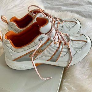 Rockport Sneaker White & Orange New 6 1/2